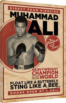 Muhammad Ali - Retro - Corbis Canvas-taulu