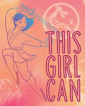 Mulan - This Girl Can Canvas-taulu