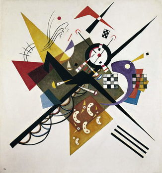 On White II, 1923 Canvas-taulu