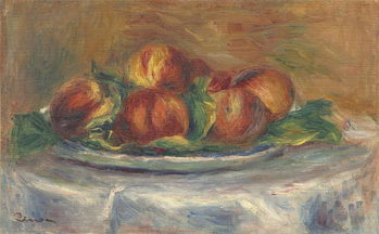 Peaches on a Plate, 1902-5 Canvas-taulu