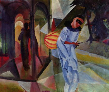 Pierrot, 1913 Canvas-taulu