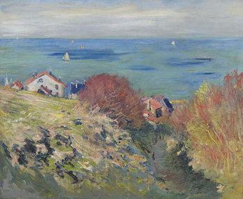 Pourville, 1882 Canvas-taulu