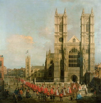 Procession of the Knights of the Bath Canvas-taulu