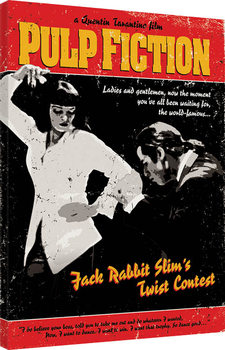 Pulp Fiction - Twist Contest Canvas-taulu
