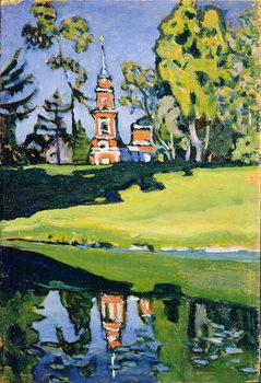 Red Church, 1900 Canvas-taulu