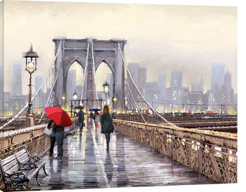 Richard Macneil - Brooklyn Bridge Canvas-taulu