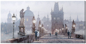 Richard Macneil - Charles Bridge Canvas-taulu