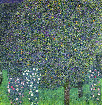 Roses under the Trees, c.1905 Canvas-taulu