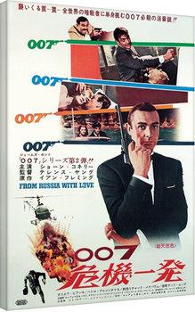 Salainen agentti 007 ja tri No - Agente 007 Canvas-taulu