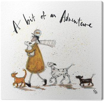 Sam Toft - A Bit of an Adventure Canvas-taulu