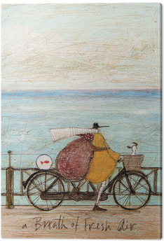 Sam Toft - A Breath of Fresh Air Canvas-taulu