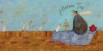 Sam Toft - Afternoon Tea Canvas-taulu