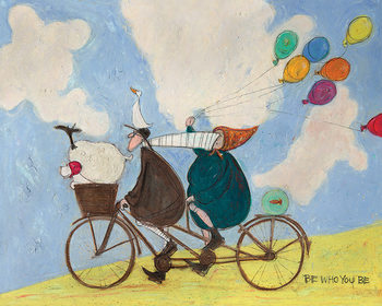 Sam Toft - Be Who You Be Canvas-taulu