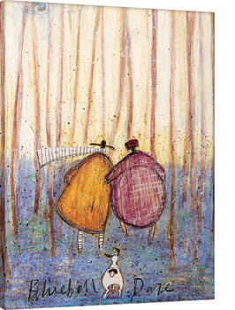 Sam Toft - Bluebell Daze Canvas-taulu