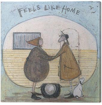Sam Toft - Feels Like Home Canvas-taulu