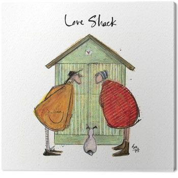 Sam Toft - Love Shack Canvas-taulu