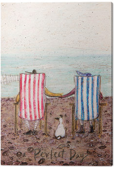 Sam Toft - Perfect Day Canvas-taulu