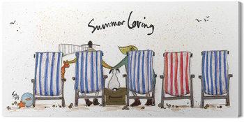 Sam Toft - Summer Loving Canvas-taulu