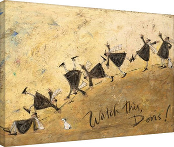 Sam Toft - Watch This, Doris! Canvas-taulu