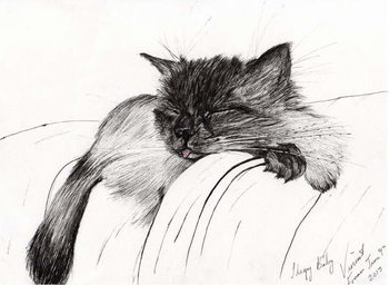 Sleepy Baby, 2013, Canvas-taulu