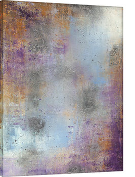 Soozy Barker - Waterlily Silver Canvas-taulu