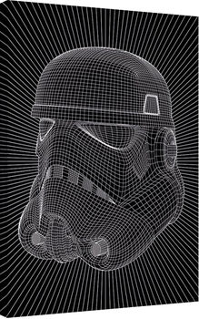 Star Wars - Stormtrooper Wire Canvas-taulu