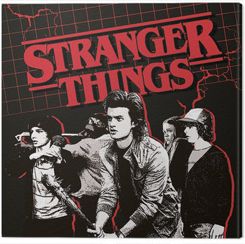 Stranger Things - Action Ready Canvas-taulu