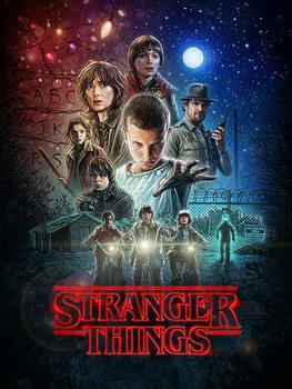 Stranger Things - One Sheet Canvas-taulu