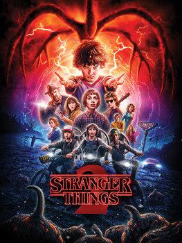 Stranger Things - One Sheet Series 2 Canvas-taulu