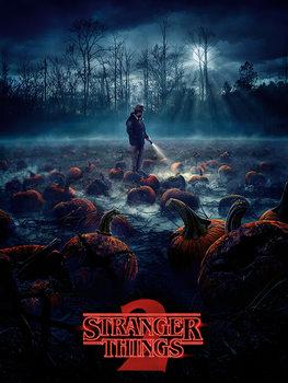 Stranger Things - Pumpkin Patch Canvas-taulu