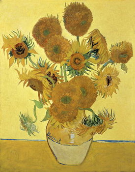 Sunflowers, 1888 Canvas-taulu