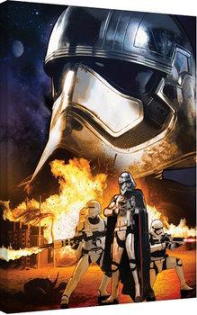 Tähtien sota: Episodi VII – The Force Awakens - Captain Phasma Art Canvas-taulu