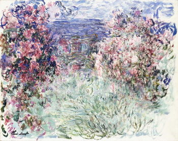 The House among the Roses, 1925 Canvas-taulu