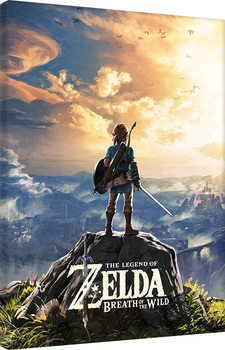 The Legend Of Zelda: Breath Of The Wild - Sunset Canvas-taulu