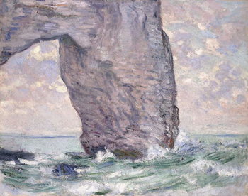 The Manneporte seen from Below, 1883 Canvas-taulu