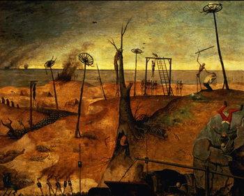 The Triumph of Death, c.1562 (oil on panel) Canvas-taulu