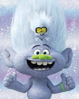 Trolls World Tour - Guy Diamond and Tiny Canvas-taulu