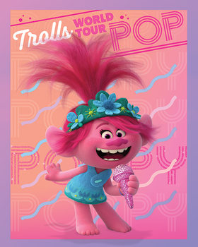 Trolls World Tour - Poppy Canvas-taulu