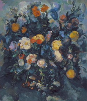 Vase of Flowers, 19th Canvas-taulu