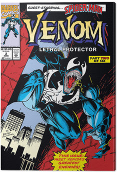 Venom - Lethal Protector Comic Cover Canvas-taulu