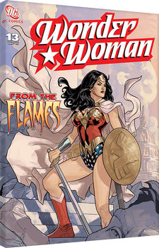 Wonder Woman - From The Flames Canvas-taulu