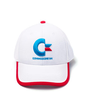 Cap  Commodore 64 - Logo Colors Curved Bill