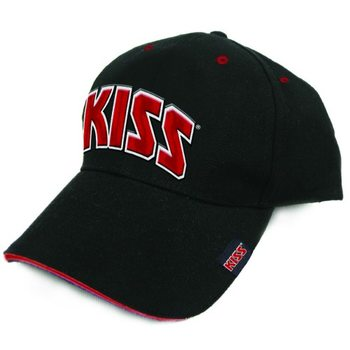 Cap Kiss - Red On White Logo