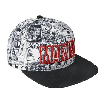 Cap  Marvel - Red Logo
