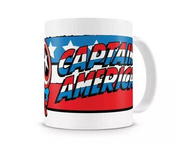 Cup Captain America - Flag