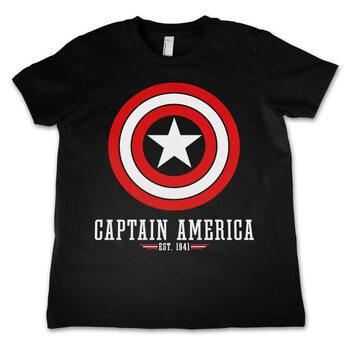 T-shirts Captain America - Logo