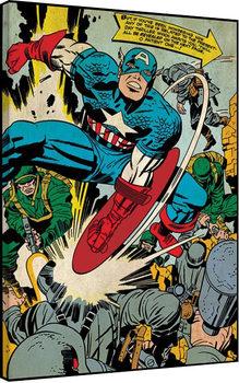 Captain America - Soldiers Canvas Print