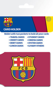 Card holder FC BARCELONA - crest