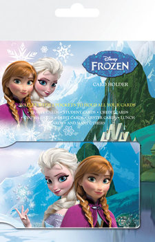 Card holder Frozen - Anna & Elsa