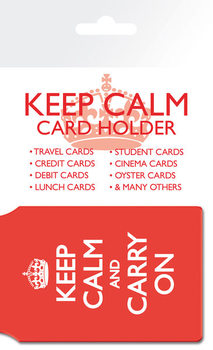 Keep Calm And Carry On Card Holder